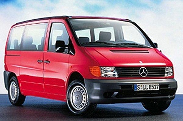 108/112 CDi dubbelt cabine bakmatta 1999-2003