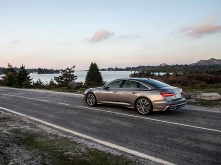 Ny! Bilmattor till Audi A6 2020->