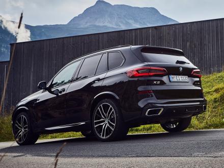 Ny! Bilmattor till BMW X5 xDrive 45e 2019 ->