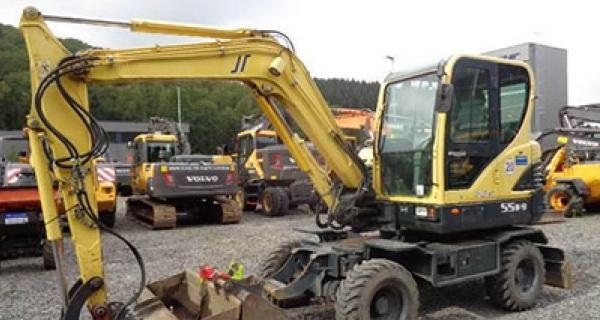 Hyundai-grävmaskin 55w9