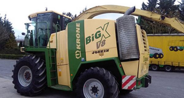 Krone BIG X 600 kabinmatta 2012 >