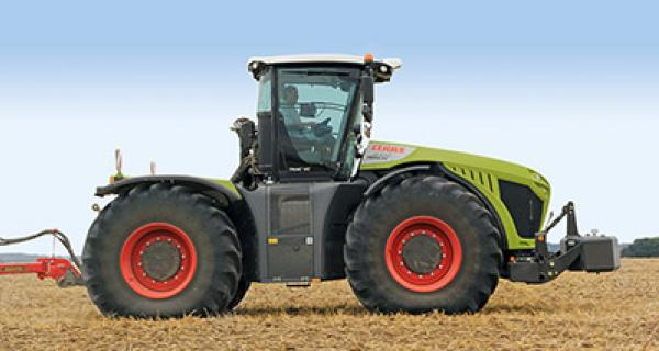 Claas Xerion 5000 - 4000 2015 ->