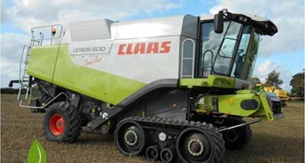 Claas Lexion med bromspedal 2010-2012