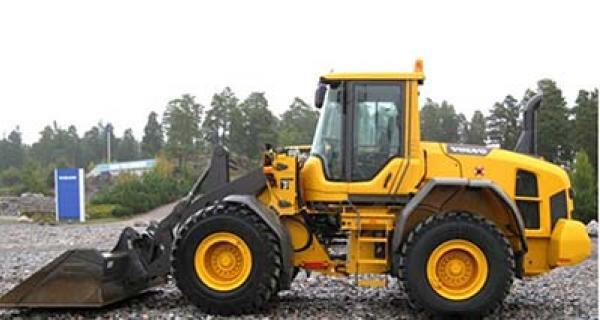 Volvo hjullastare L60F t/m L250F