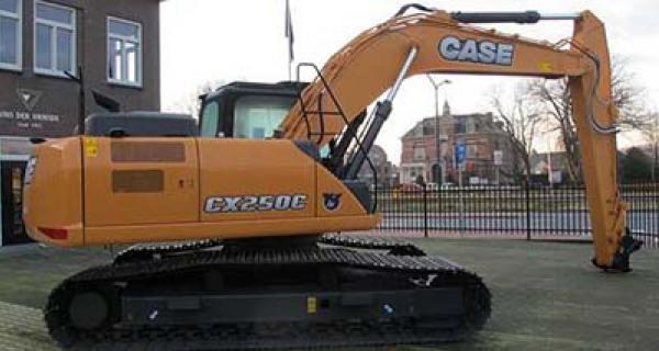 Case cx250c kran